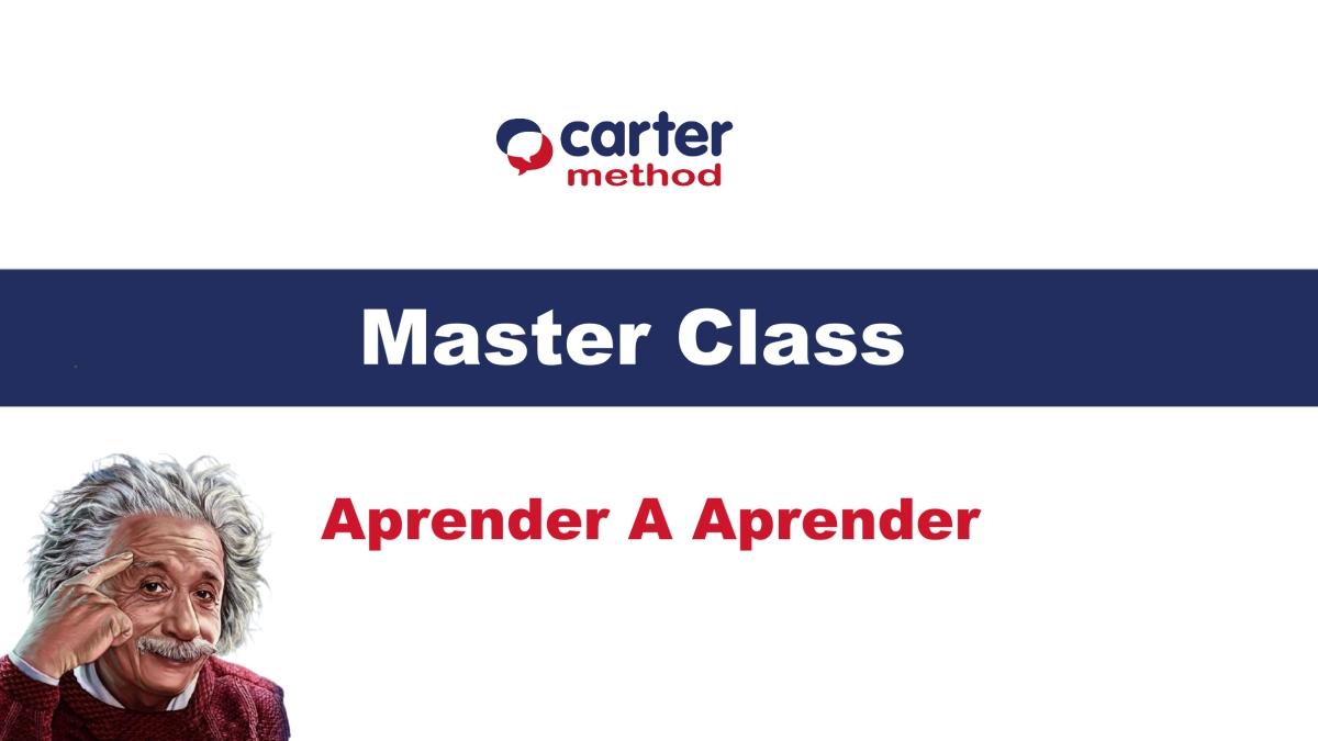 Master Class – Aprender a Aprender
